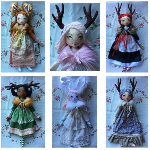 Secret Fauna Large Art Dolls